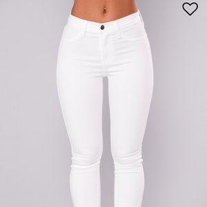 Forever Jeans White